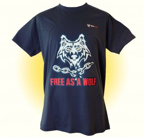 Frei wie ein Wolf - T-Shirt