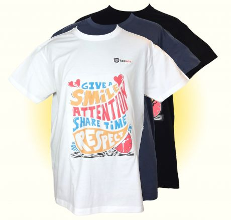 Time, Attention, Smile, Respect - T-Shirt