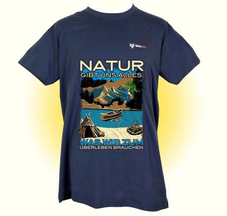 Nature grants us everything we need to survive - T-Shirt
