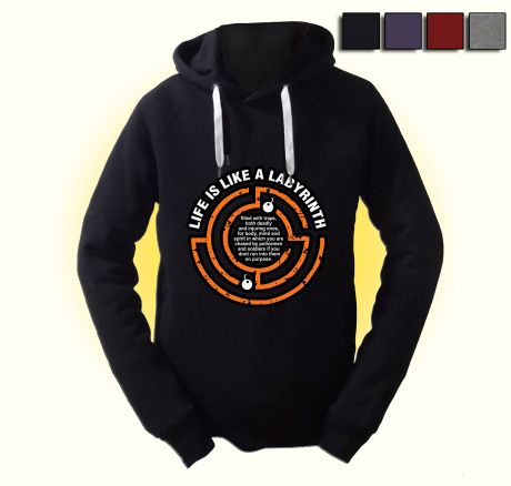 Life is like a Labyrinth - Pullover