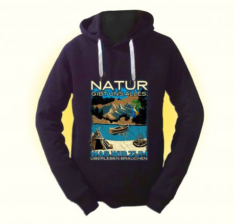 Nature gives us what we need to survive - Pullover