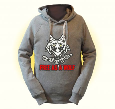As Free as a Wolf - Pullover