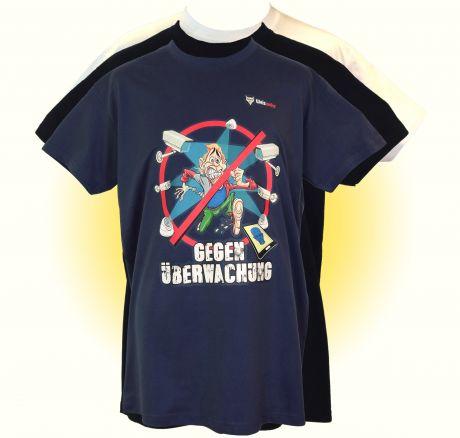 Gegen Überwachung - T-Shirt