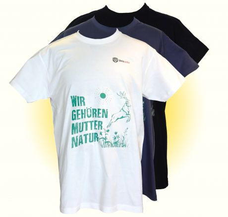 Mother Nature owns us - T-Shirt