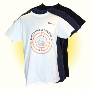 Das Leben ist ein Labyrinth - T-Shirt