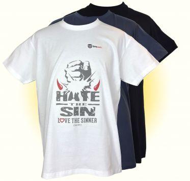 Gandhi Zitat: Hasse die Sünde, liebe den Sündiger
