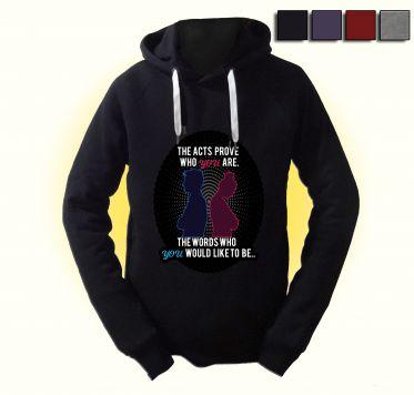 Dein Handeln beweist, wer du bist - Pullover